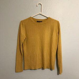 Sweaters - Lightweight yellow sweater